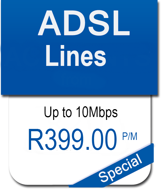 10Mb ADSL line